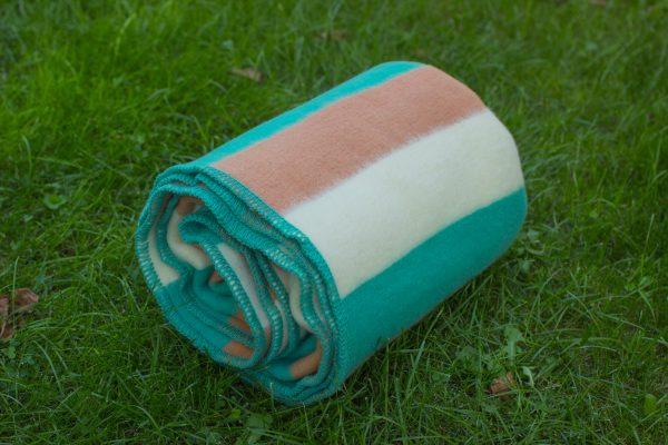 вълнено одеяло Ленти