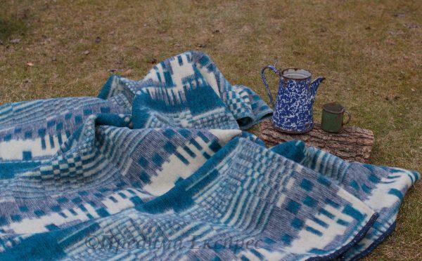 Вълнено одеяло Пиано