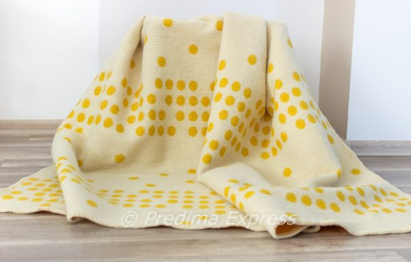 Вълнено одеяло Точки