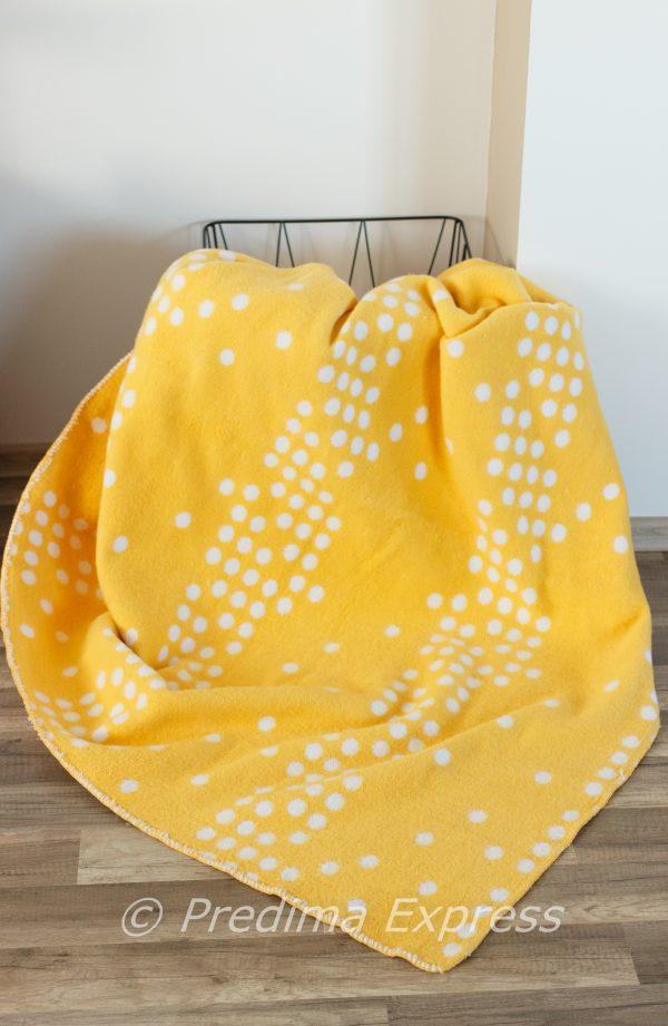Памучно одеяло Точки